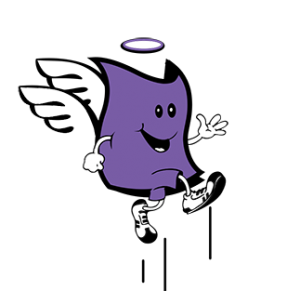 logo fina with wings